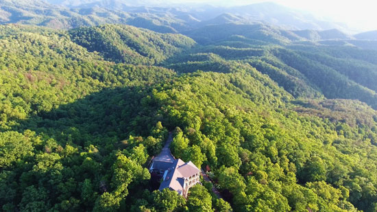 Gracehill borders the Great Smoky Mountains National Park