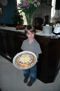 Kane and the Easter Key Lime Cheesecake