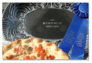 2008 Apple Pork Brunch Pie- Best Pie in the Cove, Professional Division