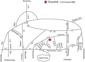 Gracehill Map