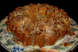 Nutty Orange Cream Cheese Coffee Cake