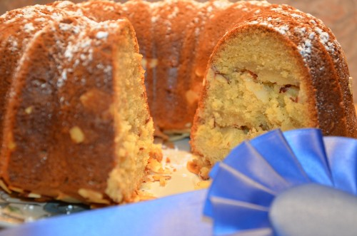 Award Winning Almond Bundt Cake