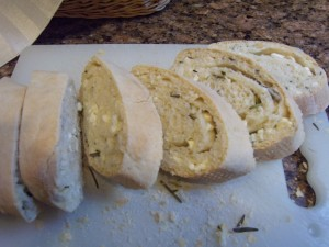 Rosemary Feta Cheese Bread