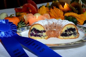 Award Winning Blueberry Almond Coffee Cake