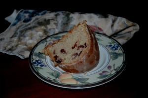 Cranberry Orange Pecan Coffee Cake