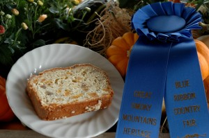 2010 Blue Ribbon Apricot Walnut Quick Bread
