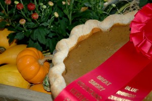2010 Award Winning Pumpkin Pie
