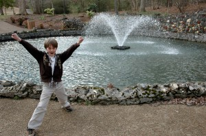 2011- TaDa! The Last Stop, Alcoa's Springbrook Park Fountain