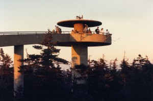 Clingmans Dome- Highest Point in the Great Smoky Mountains National Park