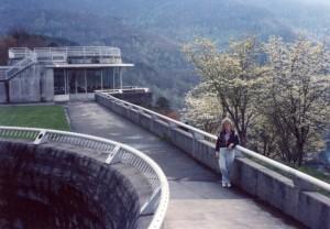 Fontana Dam in the Spring