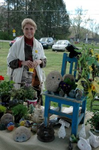 Sara Berry owner of Trillium Cove Home and Garden, Townsend, TN
