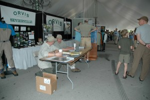 The Orvis Booth at TroutFest