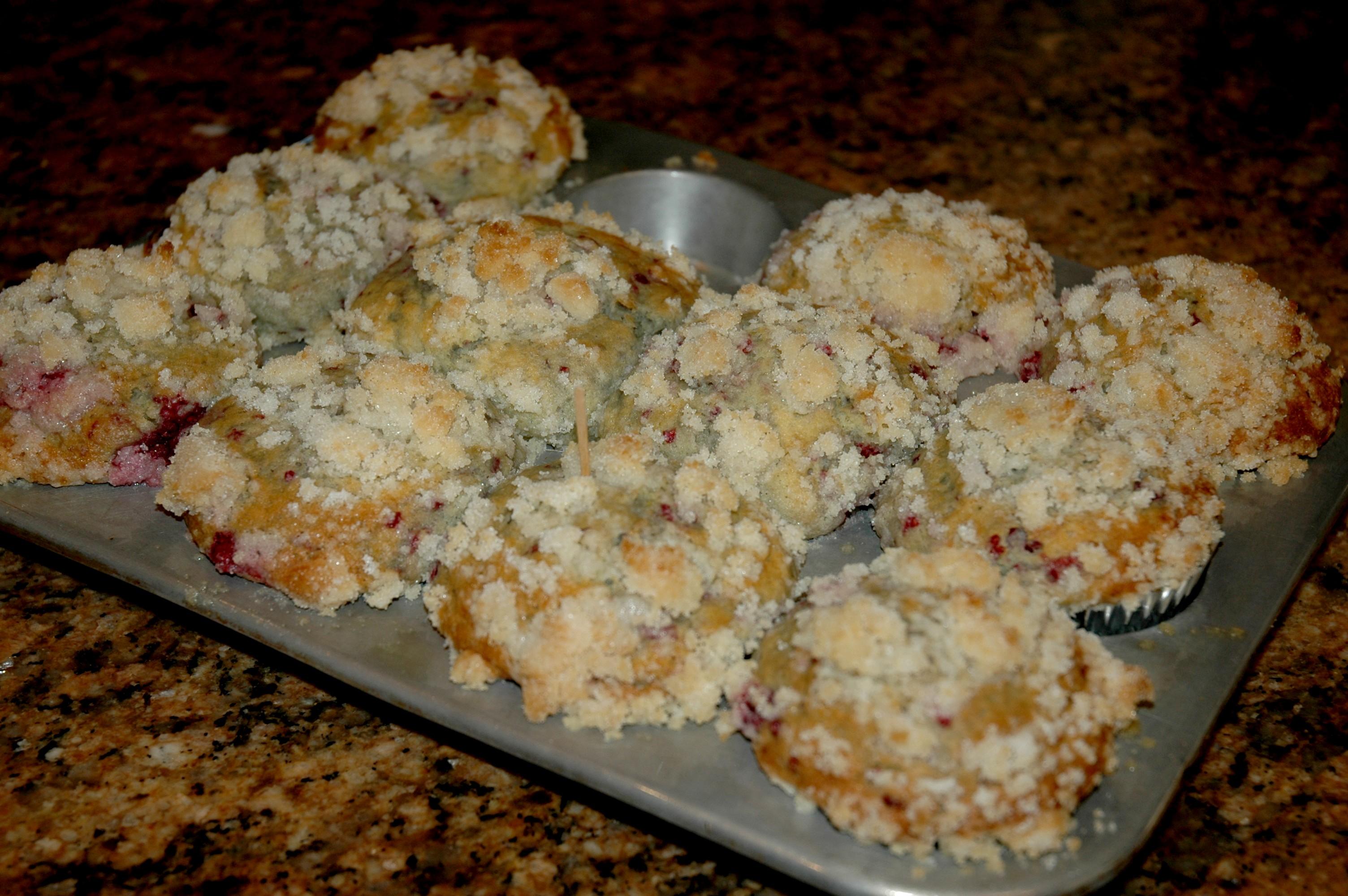Muffins- Lemon Raspberry Streusel Regular or Gluten Free | Gracehill ...