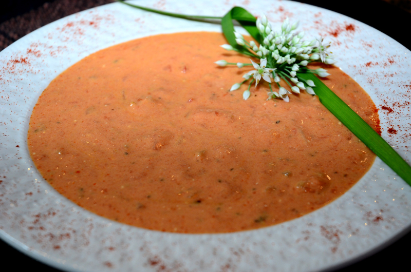 Homemade Garden Fresh Tomato-Soup