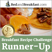 Missed first place in an international breakfast contest by 35 votes!  Not too shabby!!