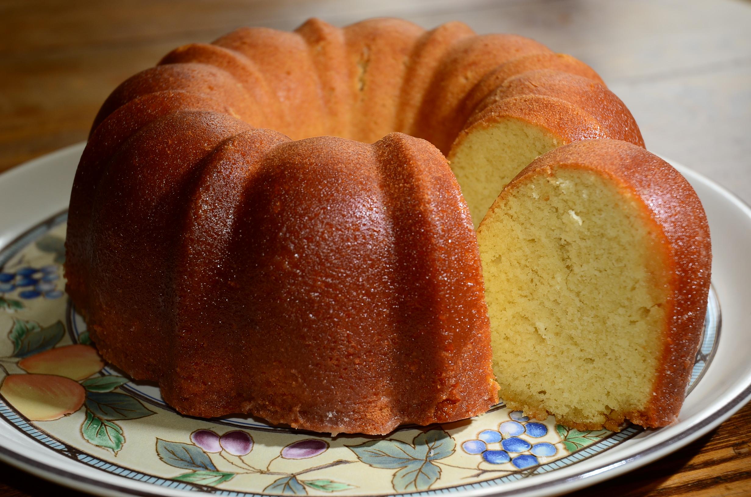 Butter Rum Pound Cake Recipe