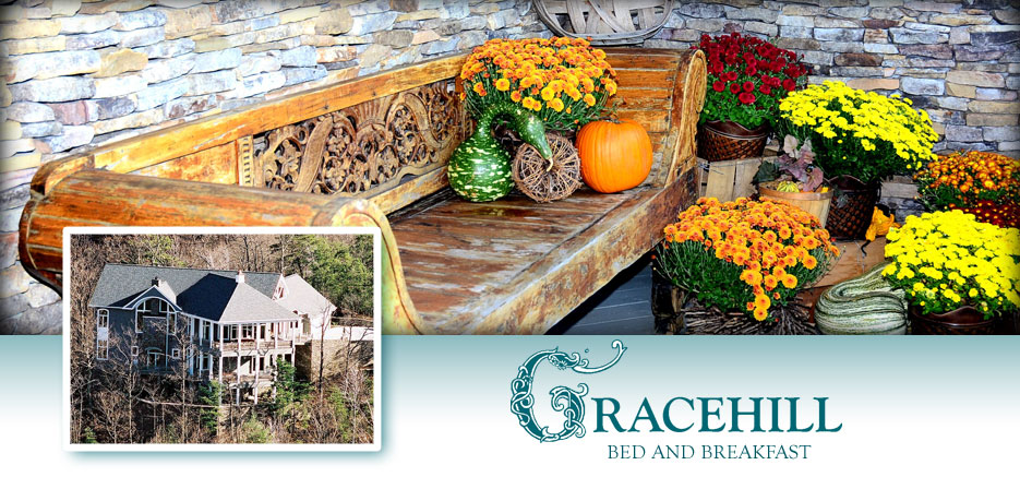 Fall Bench - Pumpkins and Mums