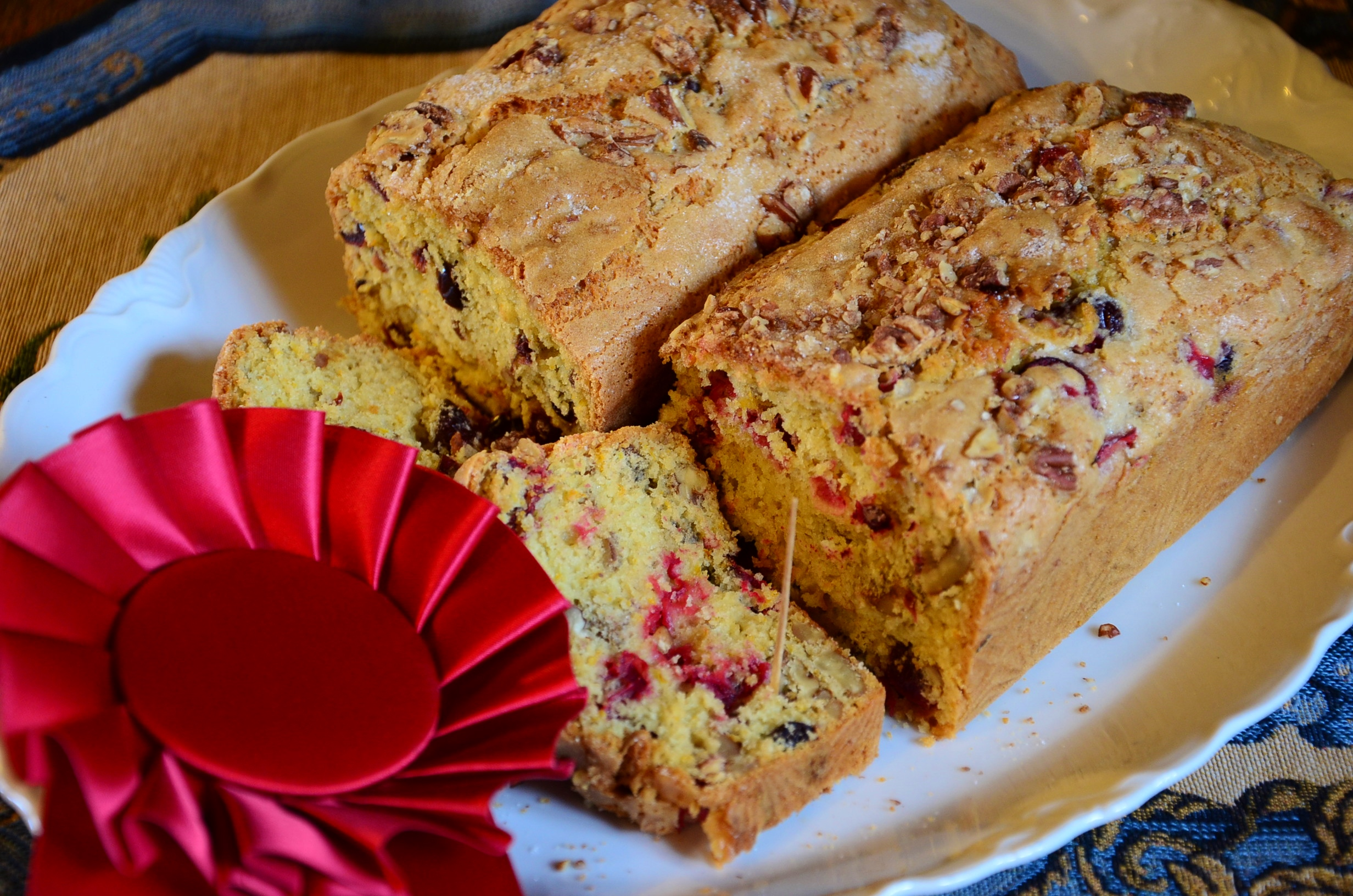 ... cranberry orange pecan bread vita dulcis cranberry orange pecan bread