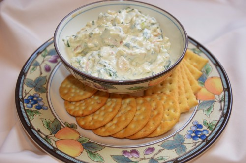 Spinach Dip w/ Water Chestnuts