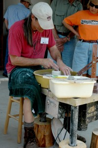 John Fulwood of Kissimmee River Pottery, Frenchtown, NJ