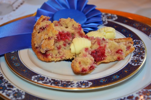 Award Winning Raspberry Lemon Muffins