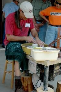 John Fulwood of Kissimmee River Pottery, Frenchtown, NJ