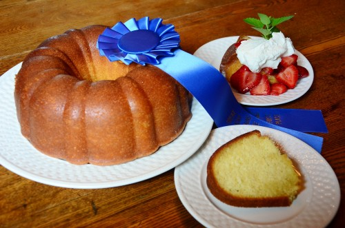 Award Winning Butter Rum Cake, recipe from guest extraordinaire, Julia Nafziger