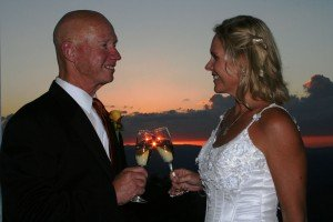 A Sunset Toast for a Lifetime of Love