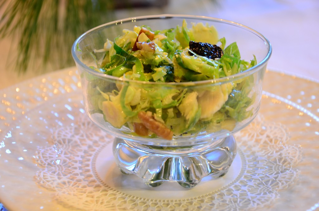 Brussels Sprouts Salad-     Something Healthy!