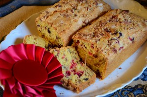 Orange Cranberry Pecan Quick Bread