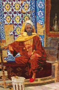 Arab Sitting by Anne B. G. Armour