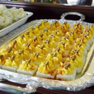 Side Dish- Square Deviled Eggs