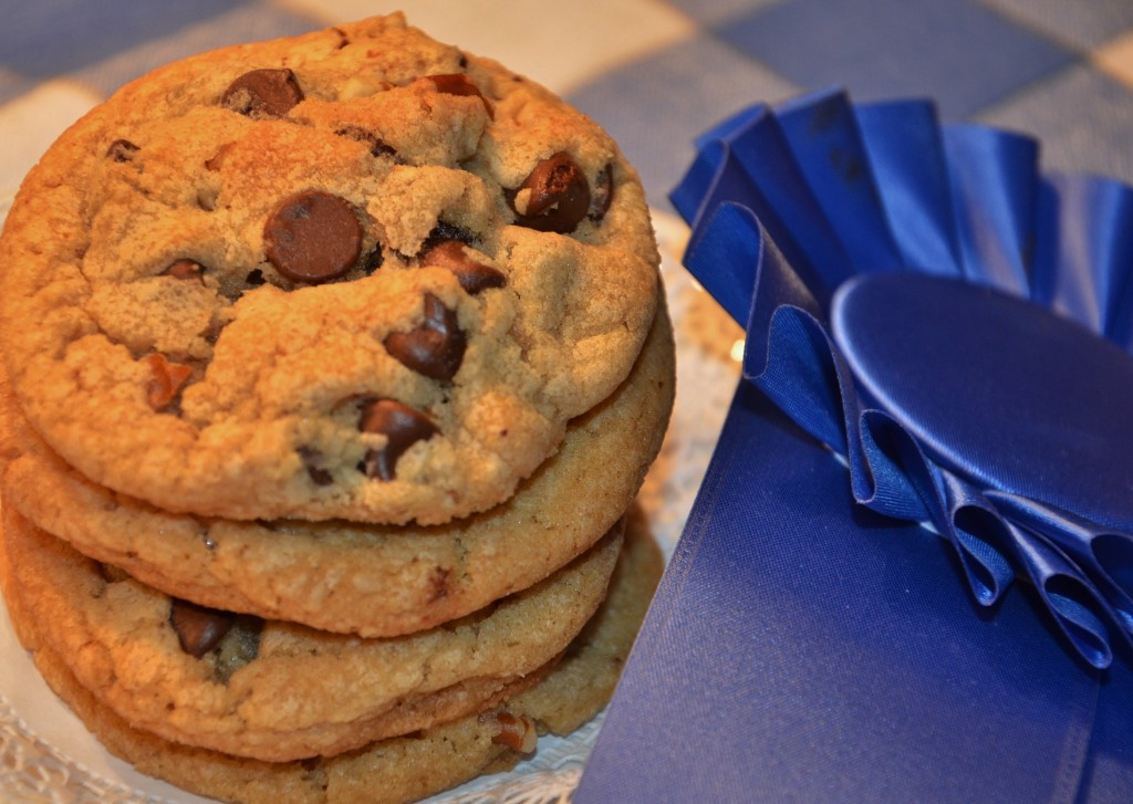These chocolate chip cookies can be made plain, with pecans or walnuts.