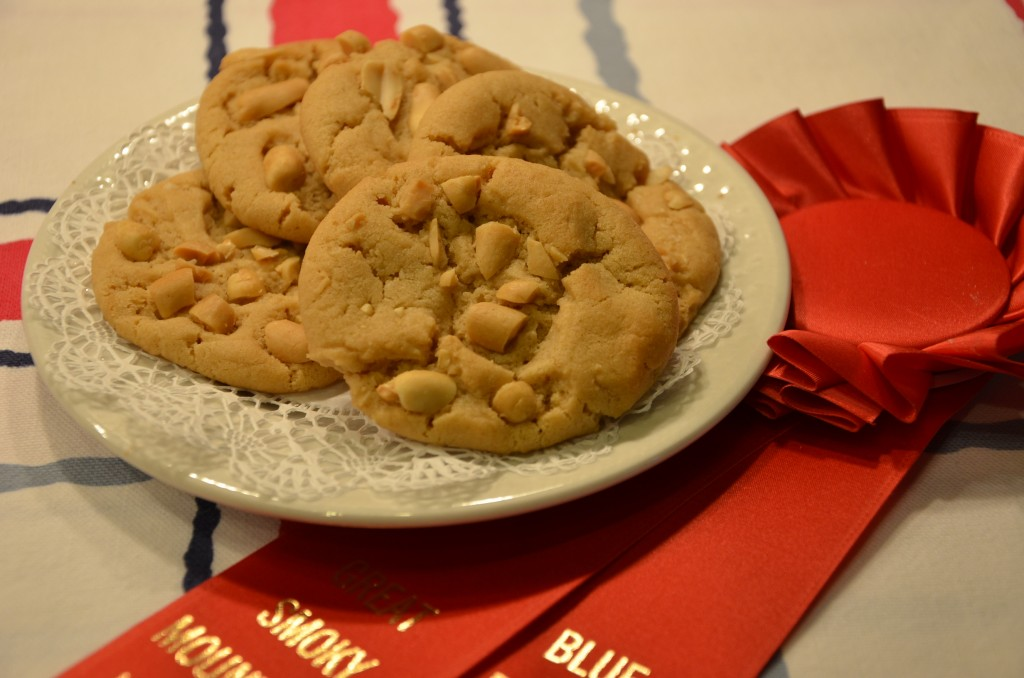 Award Winning Peanut Butter Cookies, 2nd Place