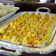 Side Dish- Square Deviled Eggs