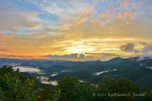 Sunset photo taken by Kathleen Janke