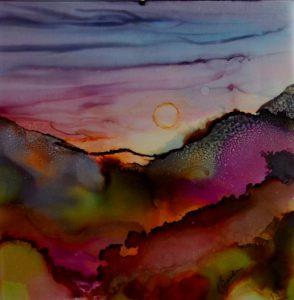Alcohol Ink Artwork by Kathleen Janke